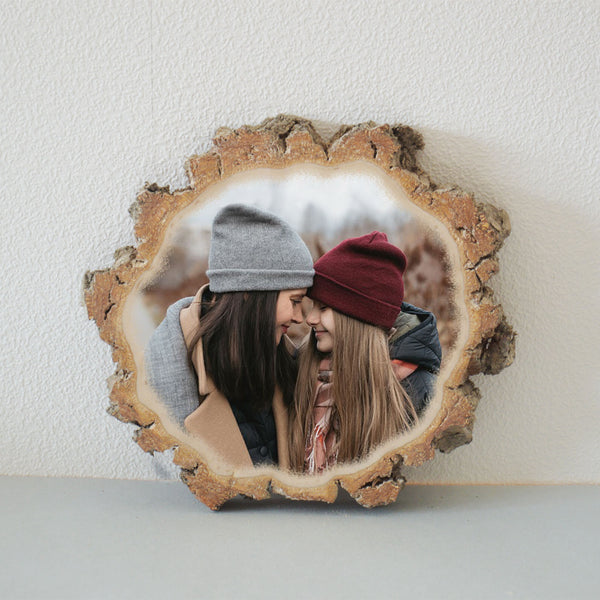Wood Slice Photo Wood Slice Wood Photo Print Wood Photo