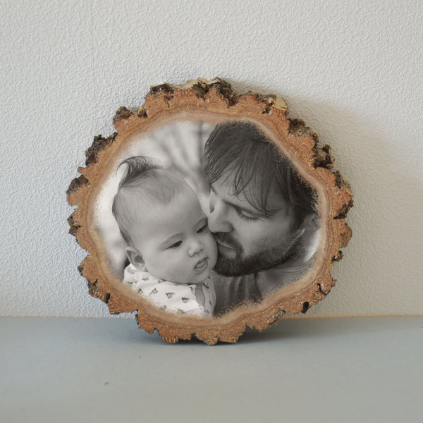 Wooden Slice Wood Photo Print on Wood Pictures on Wood