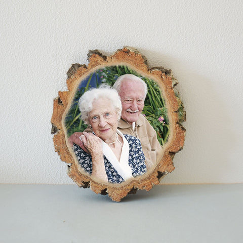 Picture Wooden Photo Wood Slice Photo  Wood Photo Print