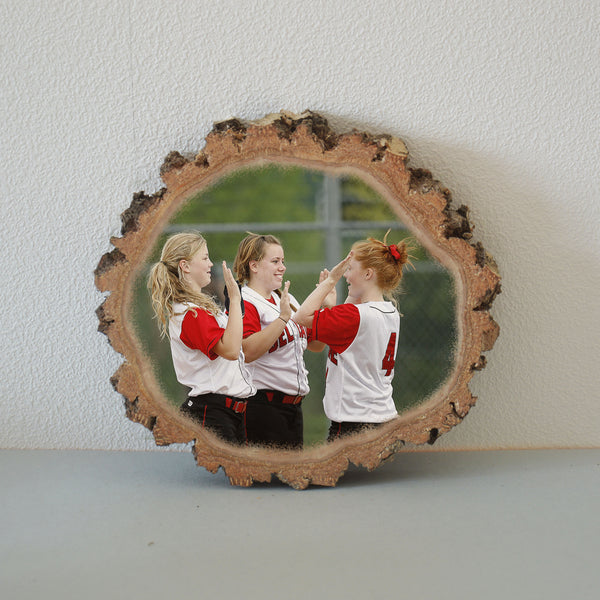 Wood Photo Print on Wood Pictures on Wood Picture Ornament
