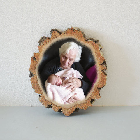 Wooden Photo Wood Slice Photo Wooden Photo Print on Wood