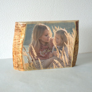 Photo Gifts Wood  Wooden Picture on Wood Wooden Photo