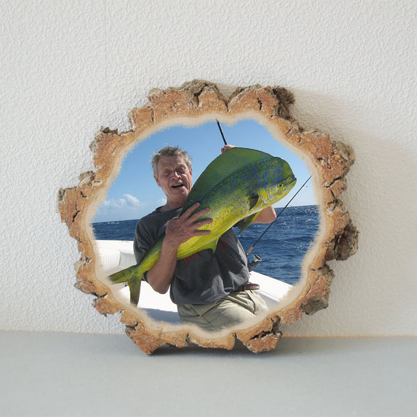 Picture Ornament Picture on Wood Photo Transfer Wood Art
