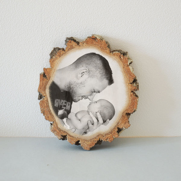 Wood Slice Wood Photo Print on Wood Photo gift