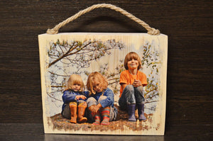 Photo Gifts Wood Photo on Wood Wooden Picture on Wood