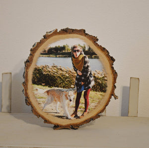Wood Art Print on Wood Pictures on Wood Picture Ornament