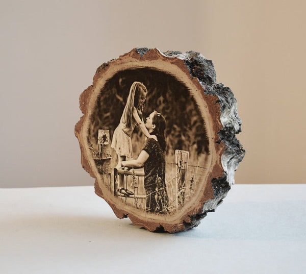 Wood Photo Wood Photo Print on Wood Pictures on Wood Picture Ornament