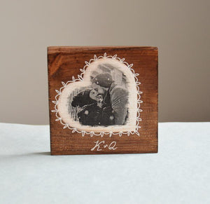 Wood Photo Transfer on Wood Wooden Photo on Wood