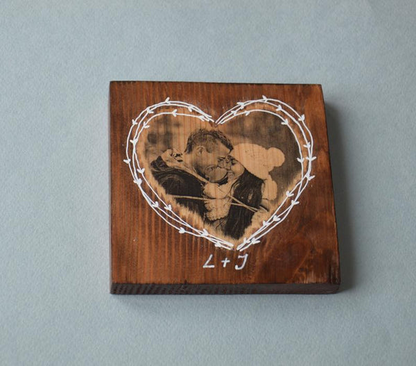 Pictures on Wood Picture Ornament Picture on Wood Photo