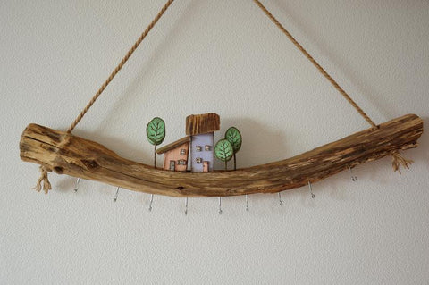 Driftwood Jewellery Organizer Custom Jewellery Storage