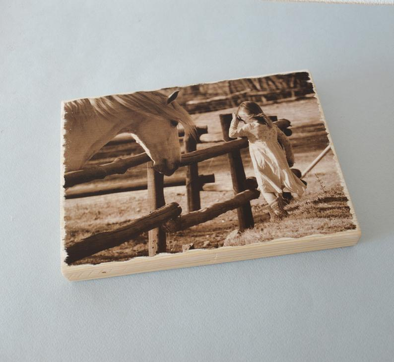 Pictures on Wood Wooden Custom Photo Wood Art