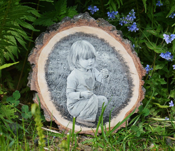 Print on Wood Picture Ornament Picture on Wood Photo