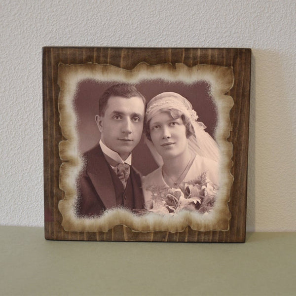 Photos on Wood Photo Gift Photo Ornament