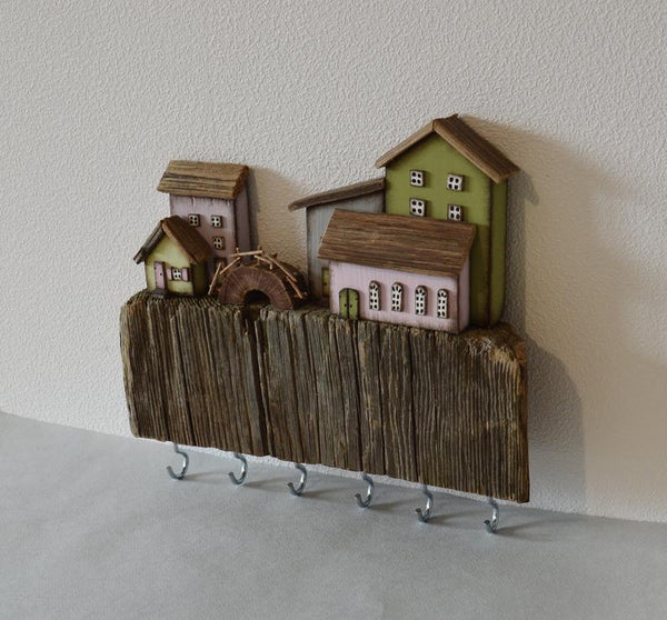 Key Hanger Custom Key Rack Rustic Key Holder