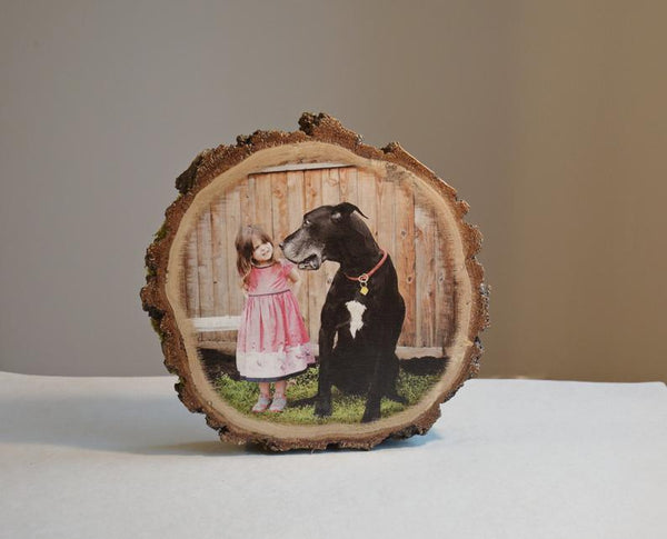 Wooden Photo Print on Wood Picture on Wood Ornament