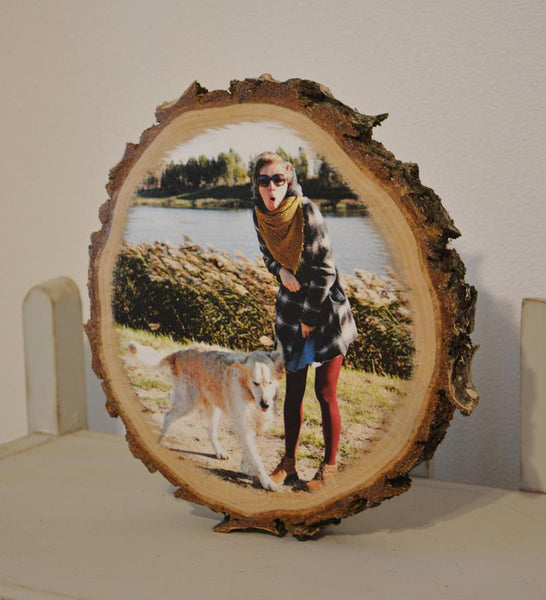 Photos on Wood Photo Gift Photo Ornament Wood Photo Print
