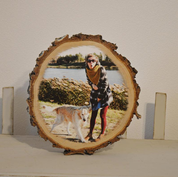 Rustic Wood Photos on Wood Photo Gift Photo