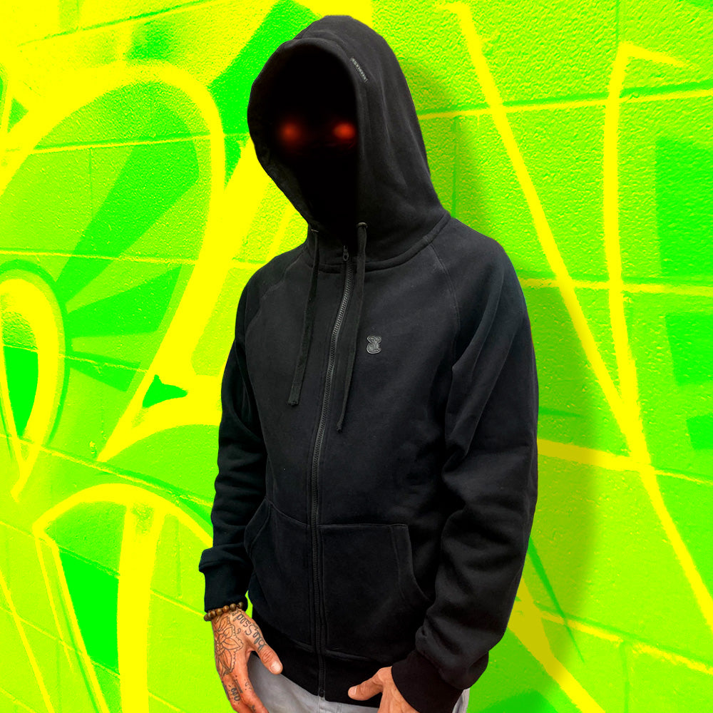 Hoody : Murdered out Sprout (BLACK)