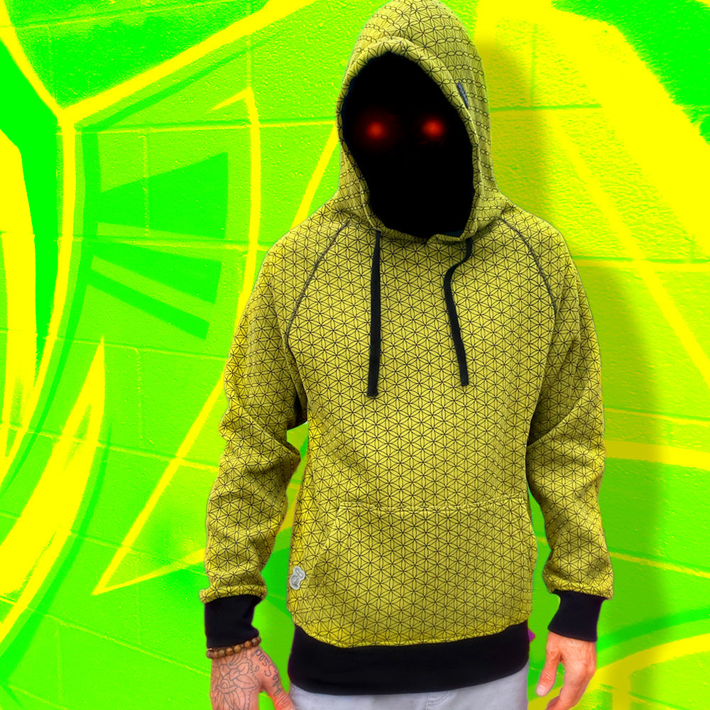 Hoody : Flower of Life (OLIVE)