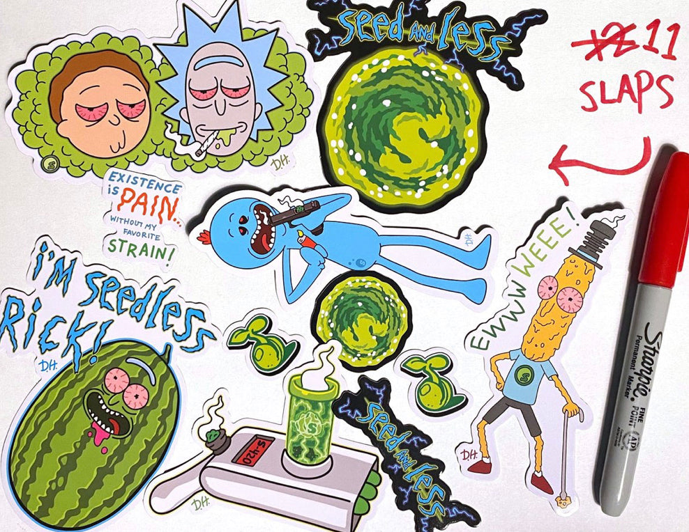 Sticker Pack-riPpin mOrty