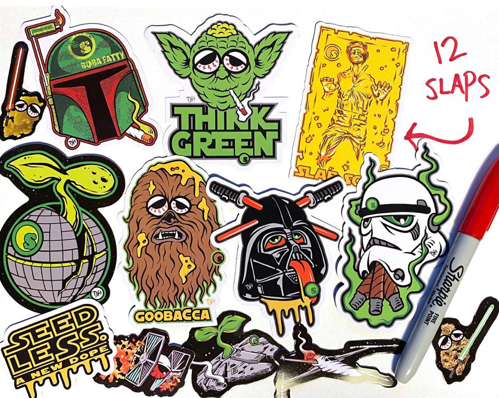 Sticker Pack-The Force