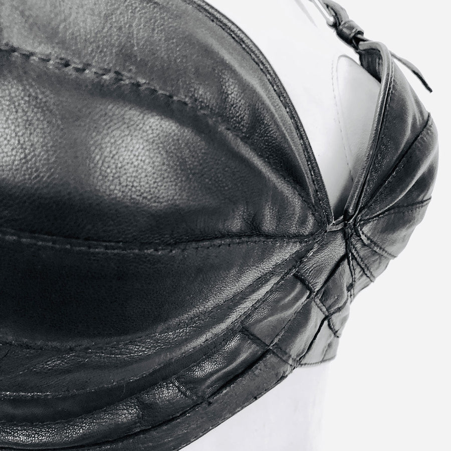 Kendra | Leather Bra - Patricia Bos