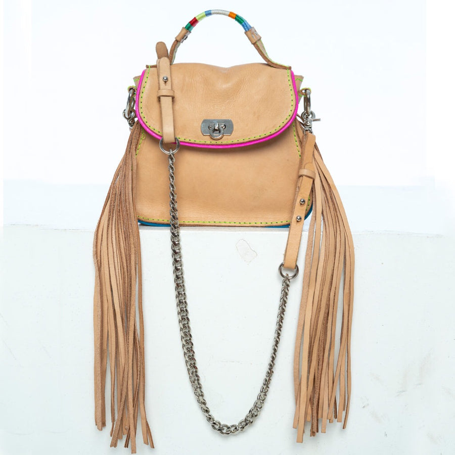 Candy | leather shoulder bag