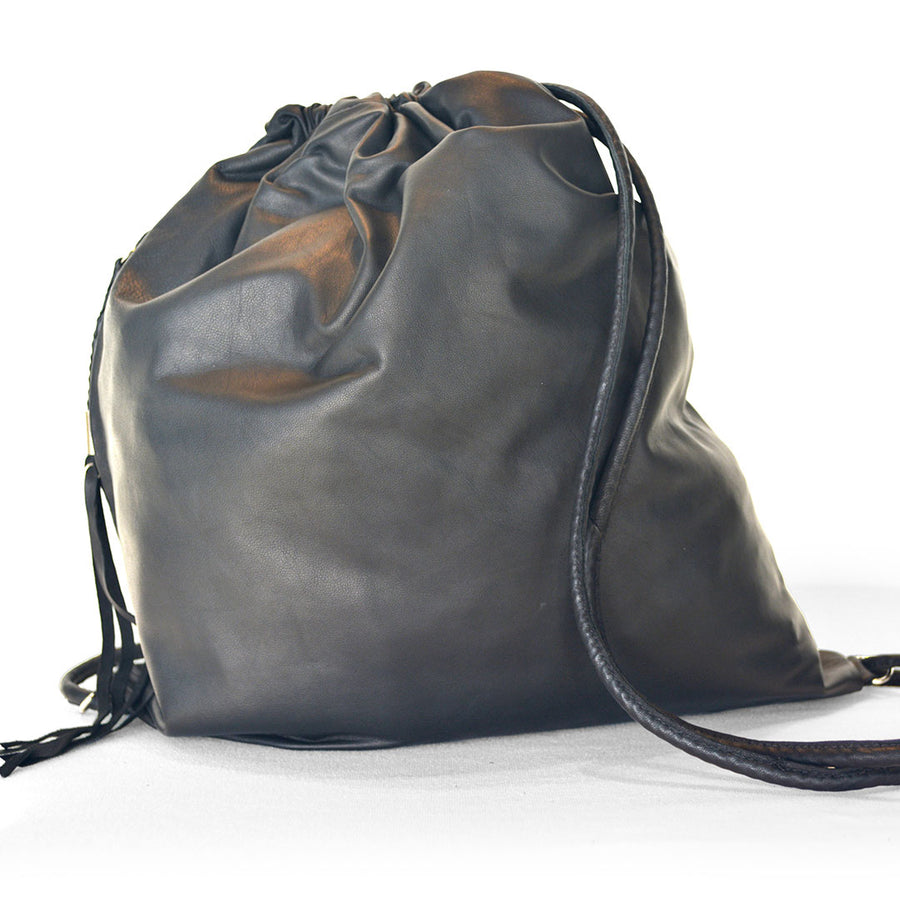 Little Lizy | Classic Leather Sack Bag