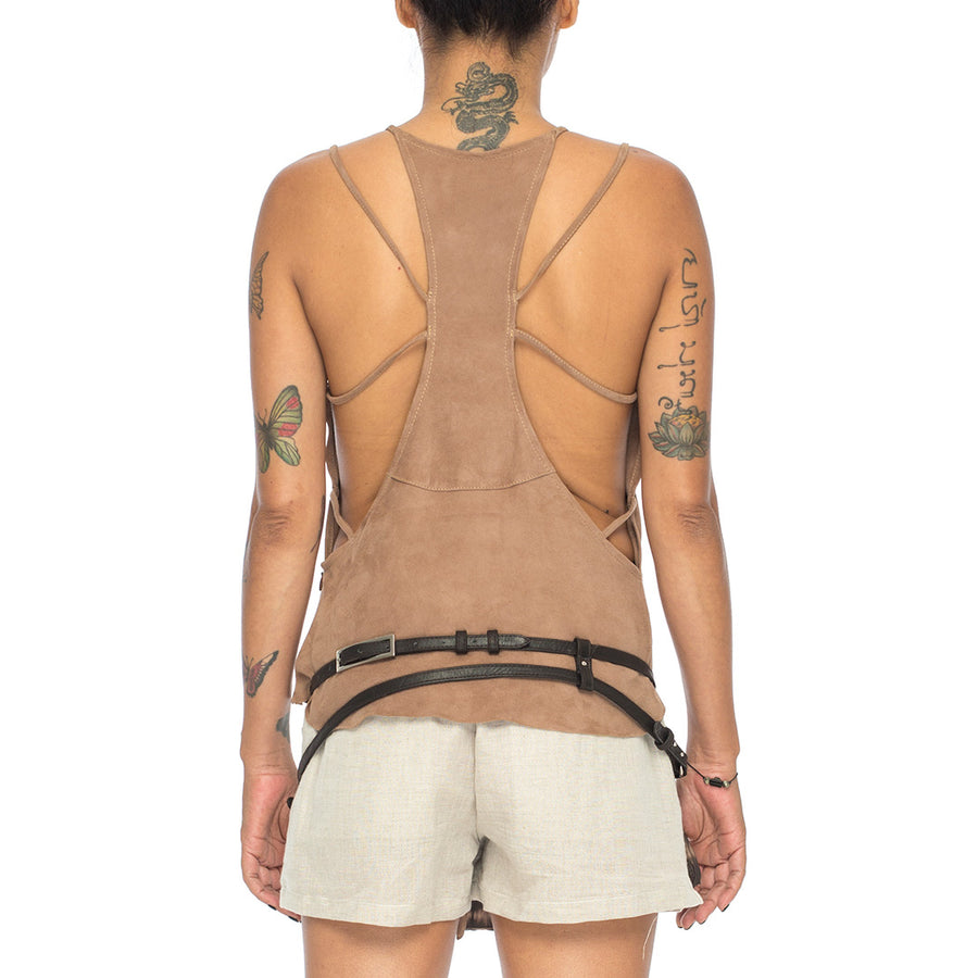 Abigail | Leather Camisole - Patricia Bos