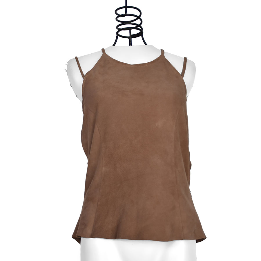 Abigail | Leather Camisole