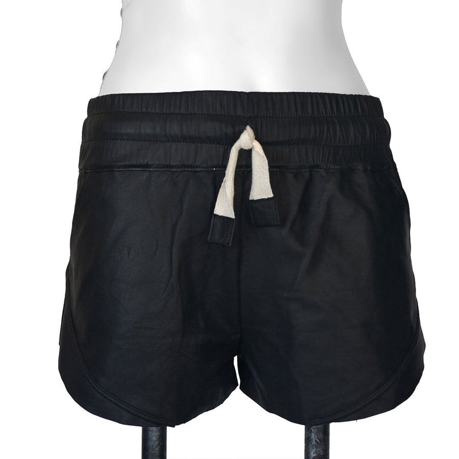 Orly | Leather Sport Shorts - Patricia Bos