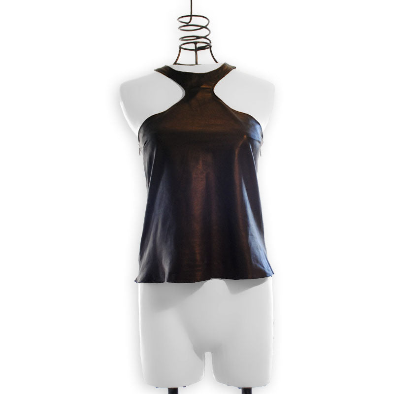 Sweeny | Leather Camisole Top
