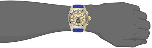 Invicta Men's 20307 Speedway Stainless Steel Watch With Blue PU Band