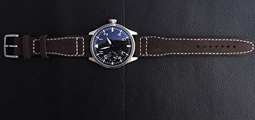 Parnis Classic St3600,44mm, Manual Winding, High Quality Leather Strap P011902