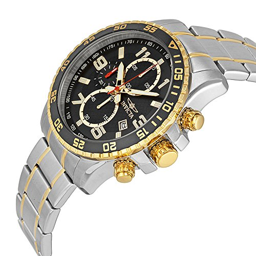 Invicta Men's 14876 Specialty Chronograph 18k Gold Ion-Plated and Stainless Steel Watch