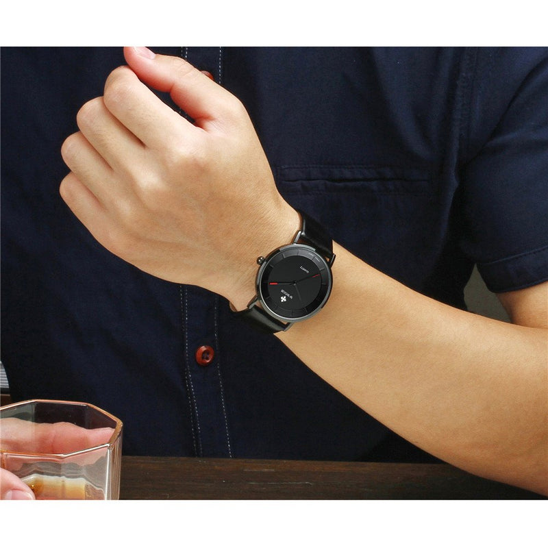 Ultra Thin Dress Wrist Watch Men's Analog Quartz Sports Watches