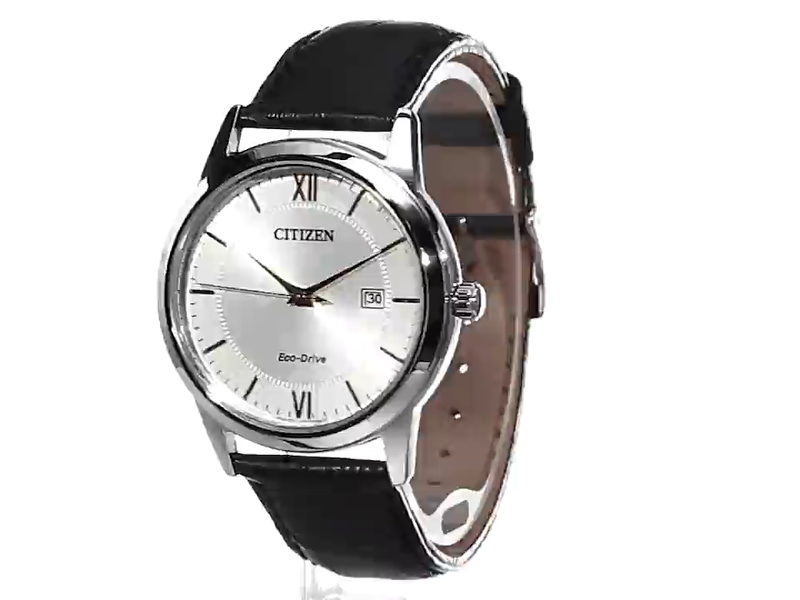 Citizen Men's Eco-Drive Stainless Steel Watch with Date, AW1236-03A