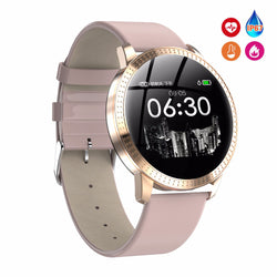 Female Fitness Smart Watch Women for Running  with Heart Rate Monitor Bluetooth Pedometer Touch Intelligent Sports Watch for Running