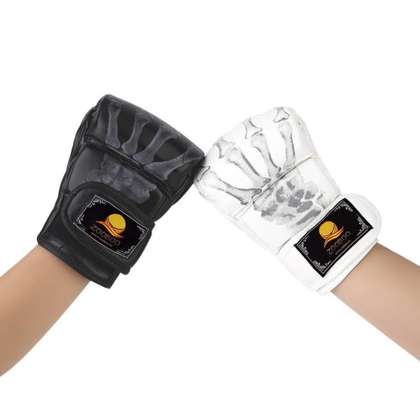 MMA Fight Boxing half finger Gloves