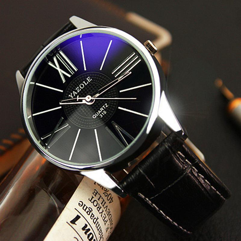 Men Minimalistic Luxury Watch
