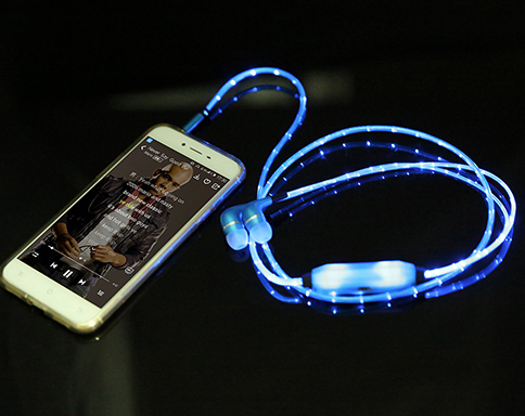 Laser LED Headphones