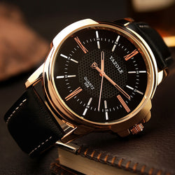 Yazole Luxury Men Watches for all  Business Men'