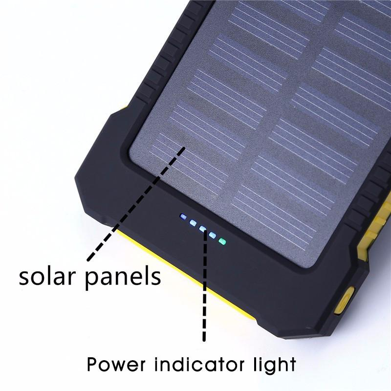 Solar Power Bank 10000mAh