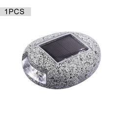 Waterproof Solar Powered Outdoor Lamp Stone-Shaped