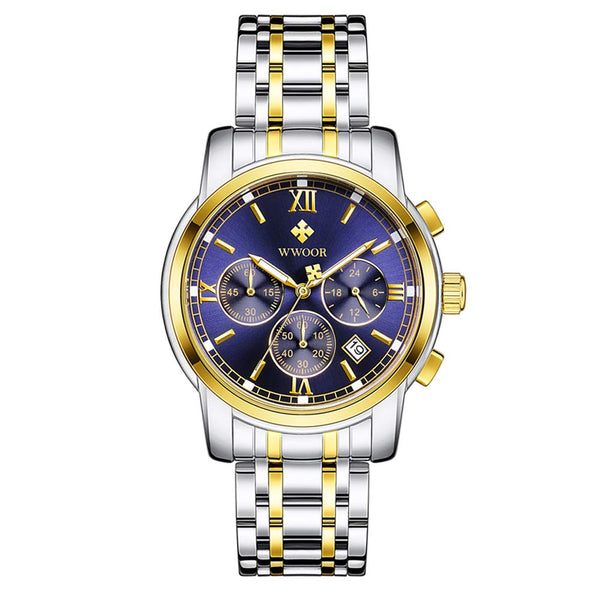 Sports Chronograph Waterproof Quartz Watch