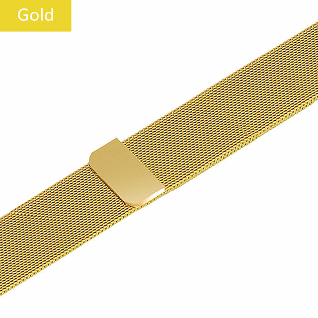 Milanese Loop band For Apple Watch Strap iWatch 3 band 42mm 38 mm Stainless steel bracelet watchband for Apple watch 4 44mm 40mm