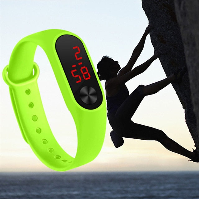 Digital Uni-sex Watche  Smart Sport watch Led Sports Fashion Electronic
