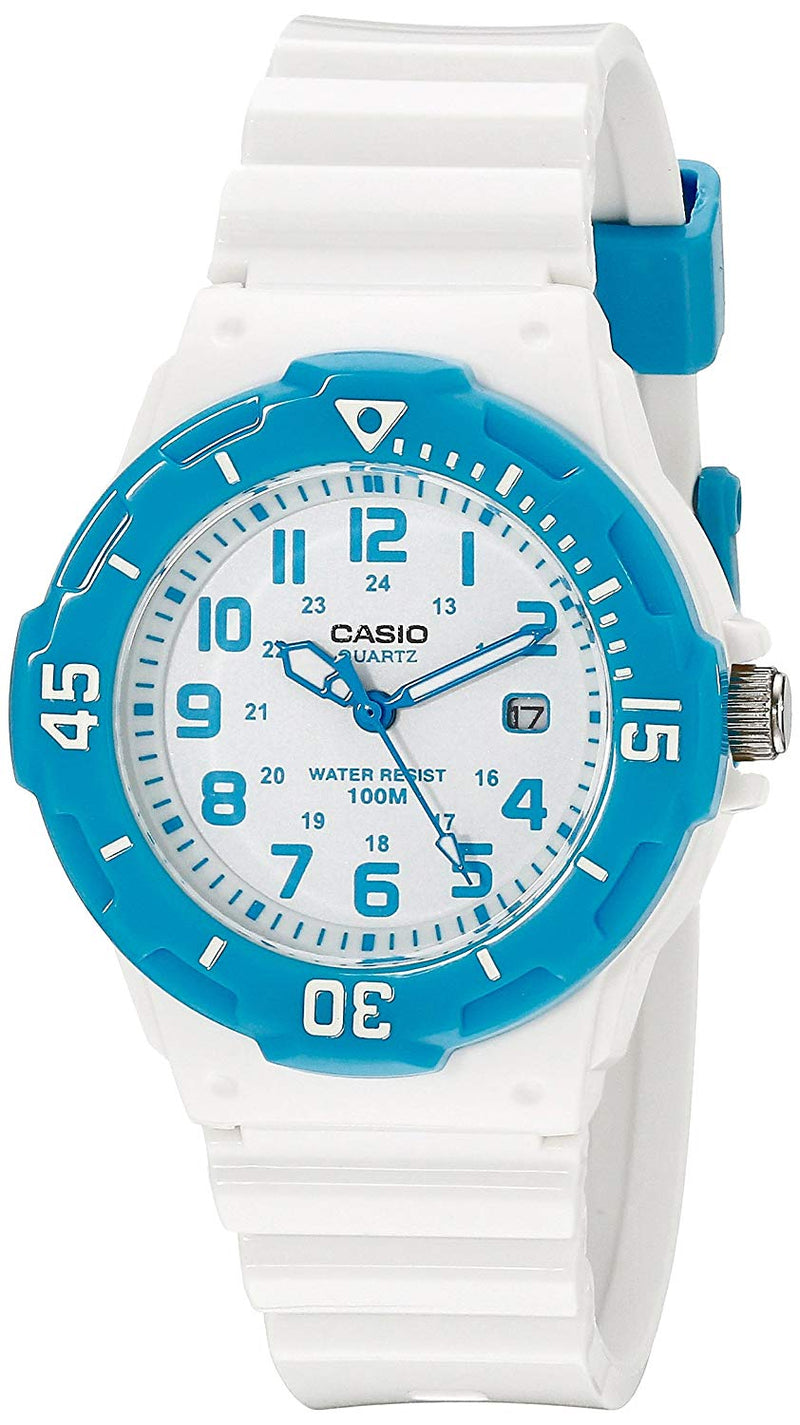 Casio Women's LRW-200H-2BVCF Stainless Steel Watch Resin Band