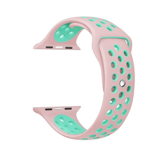 Apple Watch Silicone strap for  band 42mm 44mm Bracelet   iwatch band 4/3/2/1 38mm 40mm Sport Wristbands