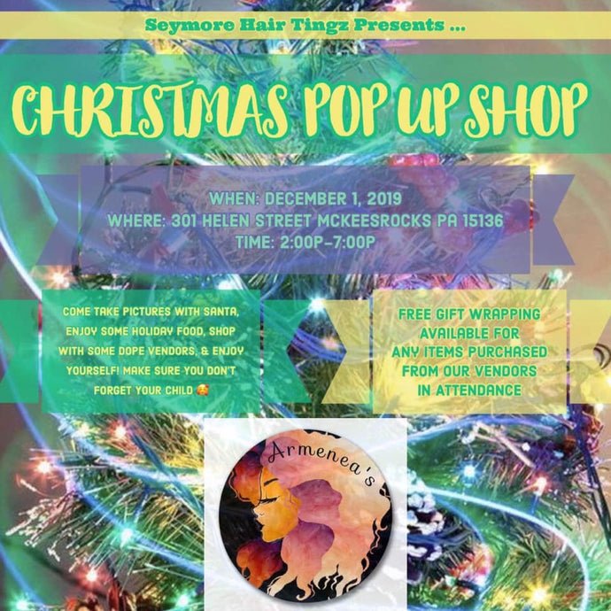 Christmas Pop Up Shop!